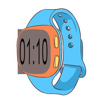 01-10 in digital watch